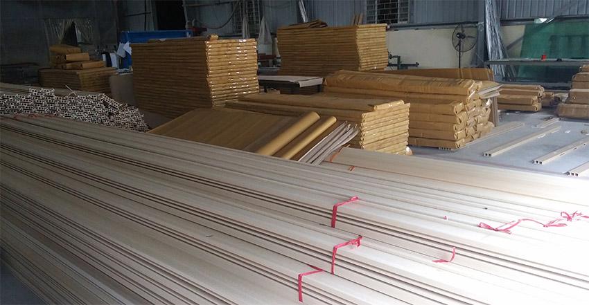 Cửa gỗ công nghiệp được sản xuất như thế nào?