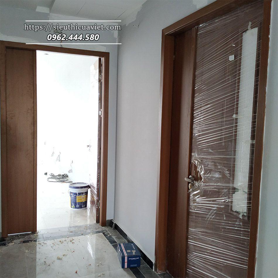 Cửa gỗ HUGE lắp đặt nhanh chóng - dễ dàng