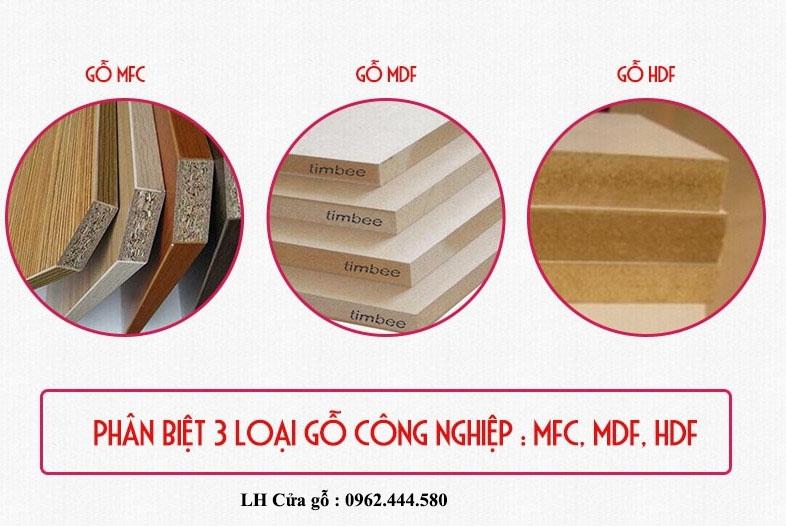 Đặc điểm của Gỗ MDF MFC và HDF