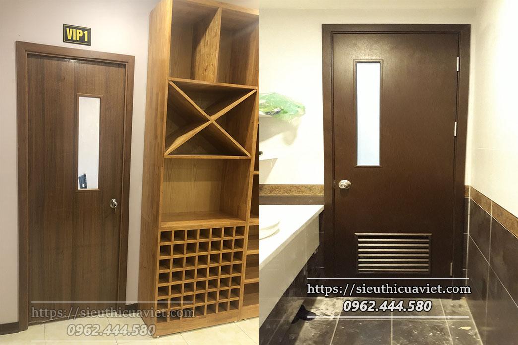 Cửa gỗ chung cư