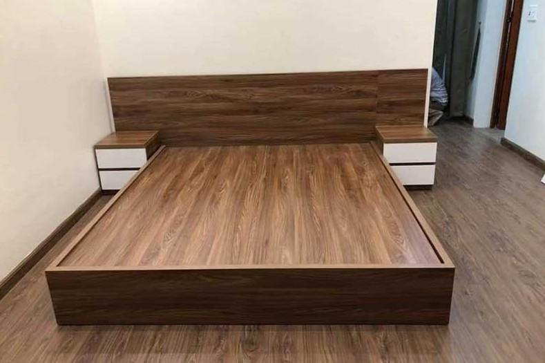 Gỗ MDF khá được ưa chuộng trong thiết kế nội thất, đóng giường tủ bàn ghế