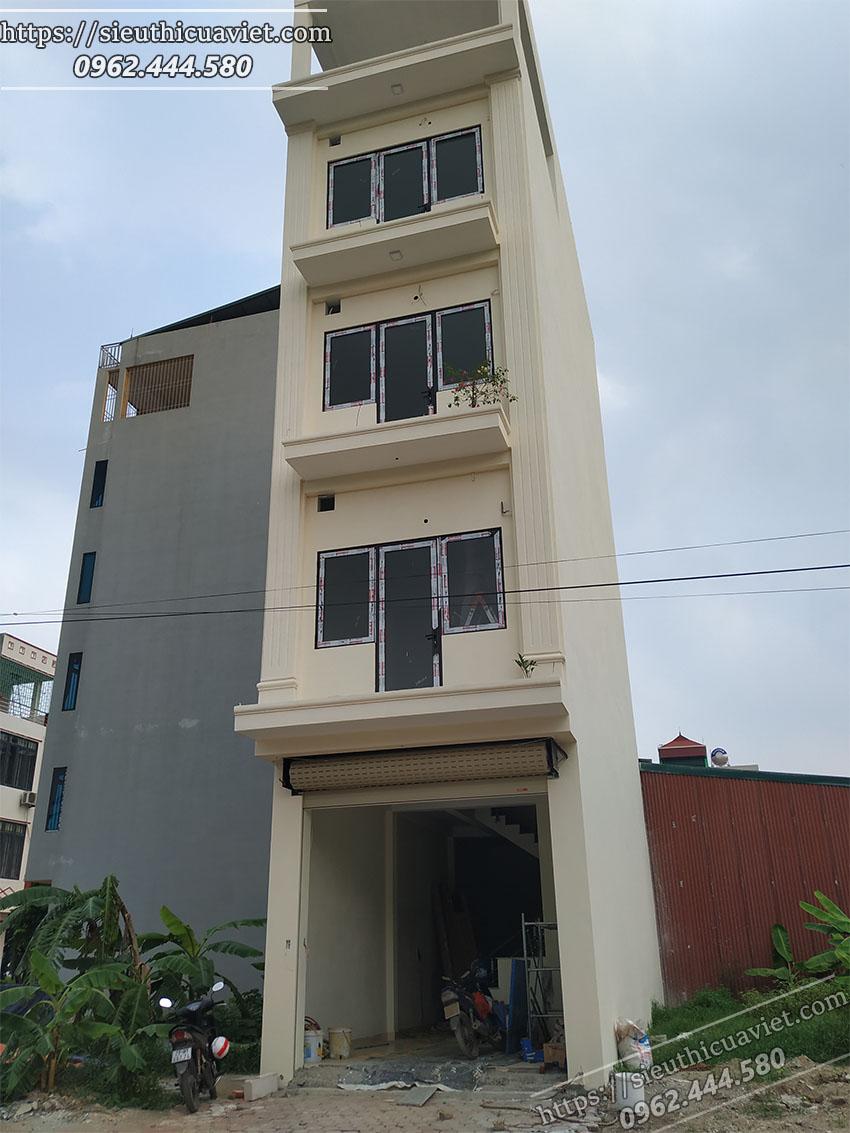 Hoàn thiện công trình nhà chú Hưng - Dương Nội