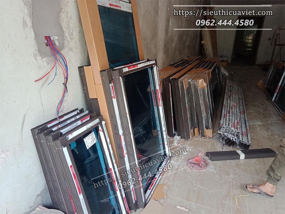 Hạng mực cửa nhôm và cửa thép sẽ được triển khai trước cửa gỗ