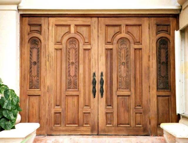 Mẫu cửa thiết kế cổ điển - độc đáo