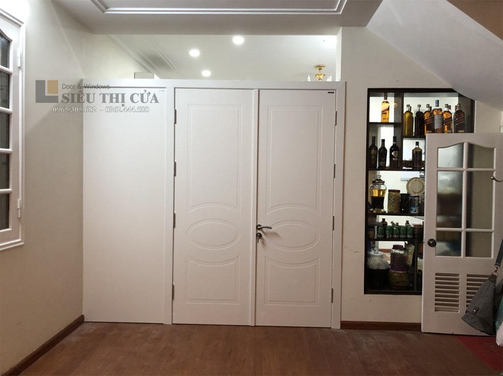Mẫu cửa đẹp thiết kế theo yêu cầu khách hàng