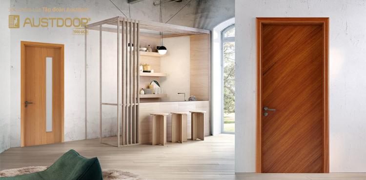 cửa gỗ công nghiệp hiện đại của tập đoàn Austdoor