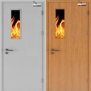 cửa thép chống cháy và cửa gỗ chống cháy