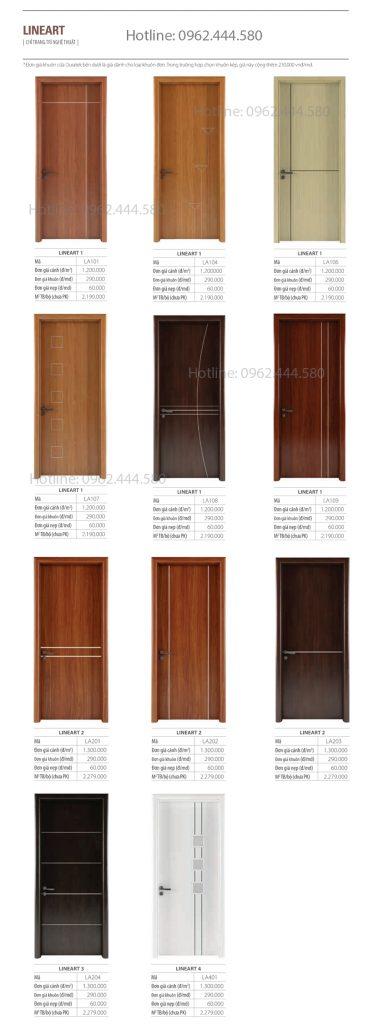 Cửa gỗ Austdoor báo giá mới nhất