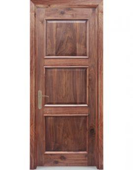 Hình ảnh cửa gỗ tự nhiên Óc Chó