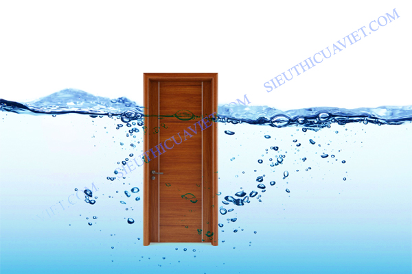 Cửa gỗ chịu nước tuyệt đối Huge