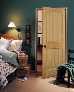 Cửa gỗ công nghiệp đẹp cần chú ý đến thiết kế