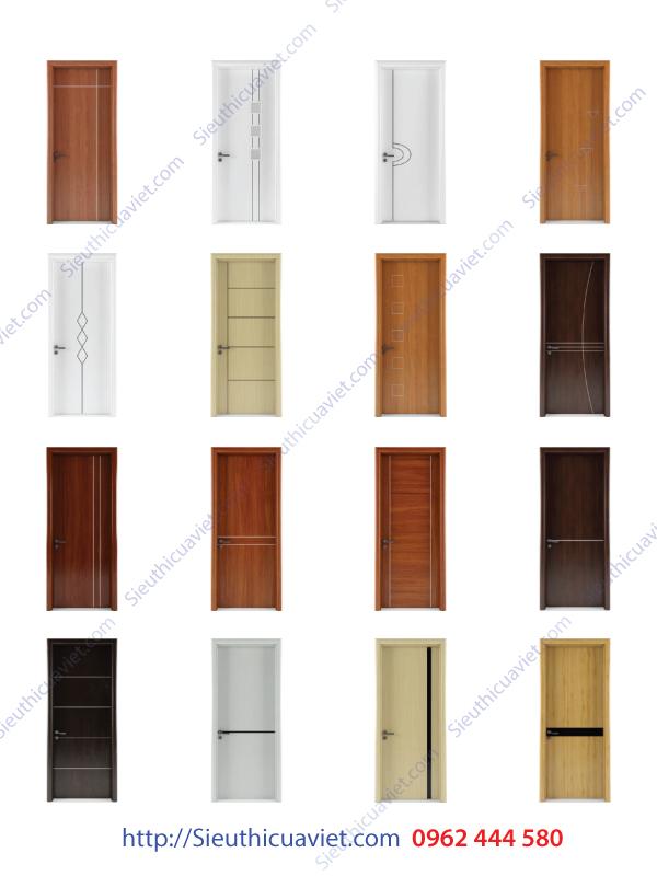 Các mẫu cửa gỗ công nghiệp đẹp