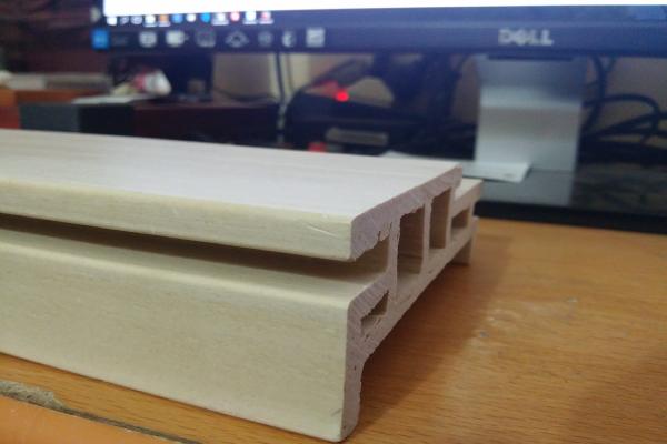 Vật liệu gỗ Durawood chịu nước của cửa gỗ Huge