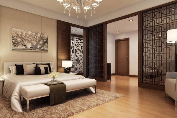 Cửa gỗ phòng ngủ biệt thự
