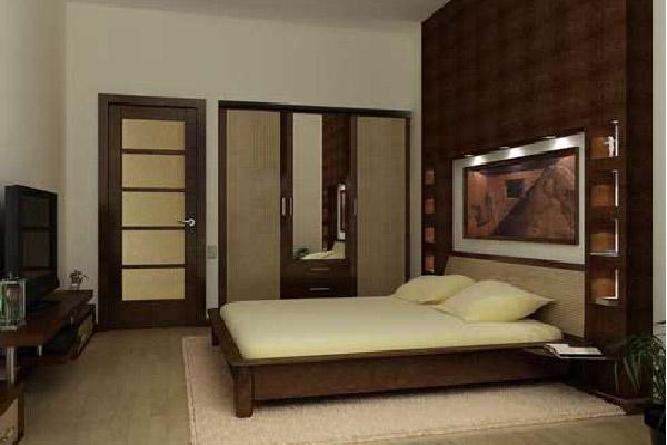 cửa gỗ đẹp phù hợp với thiết kế phòng ngủ