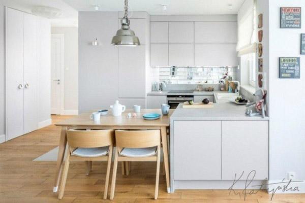 Nội thất nhà bếp đẹp ấn tượng