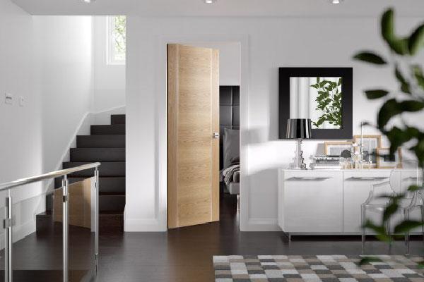 cửa gỗ đẹp cho căn hộ