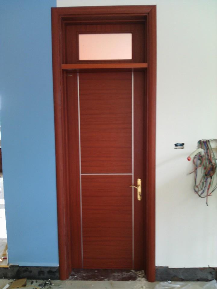 cửa gỗ thông phòng đẹp gỗ công nghiệp