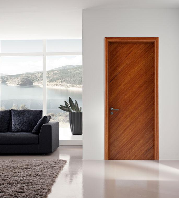 cửa gỗ phẳng hiện đại gỗ công nghiệp