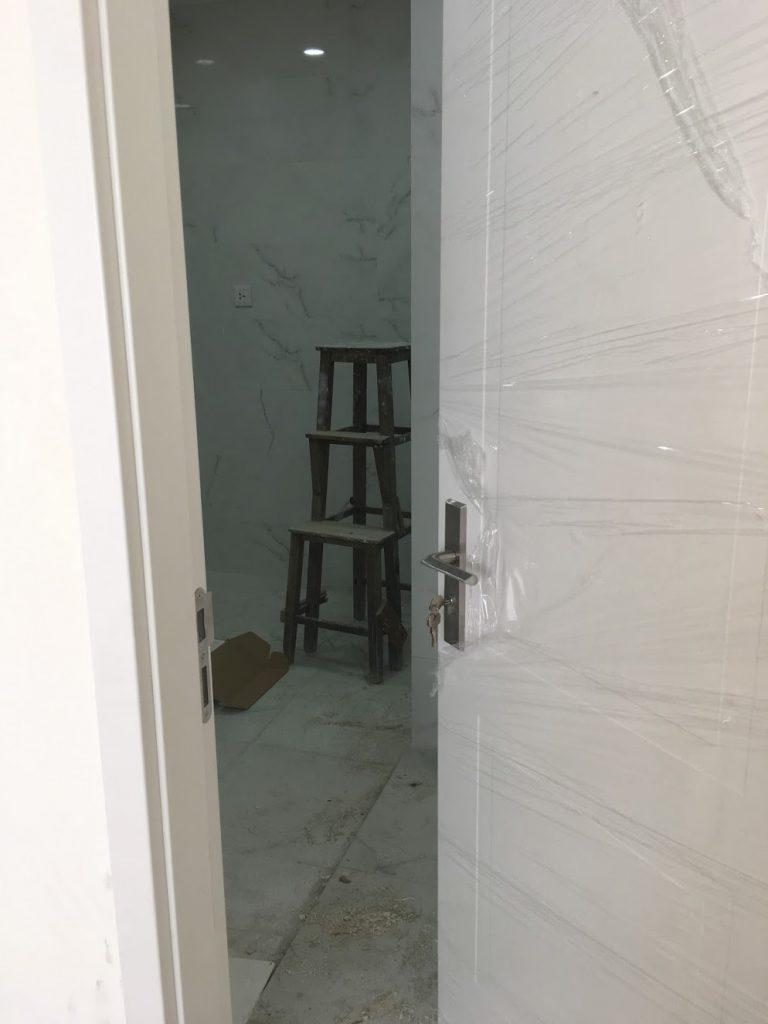 Khoá cửa gỗ Halefe được sử dụng trong toàn bộ công trình