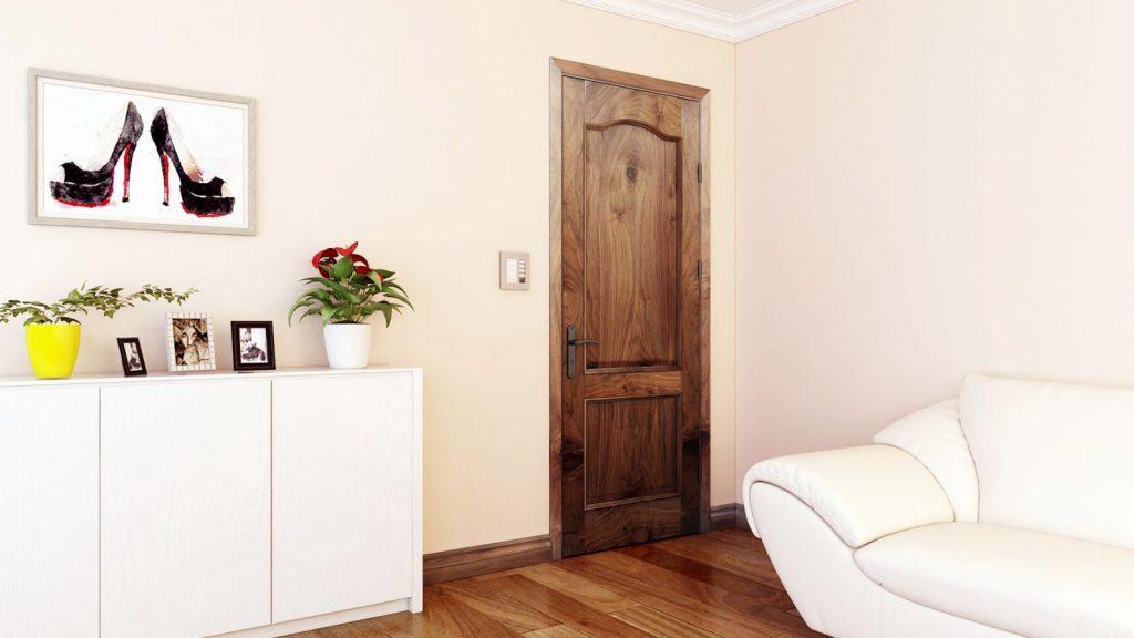 Cửa gỗ tự nhiên có độ bền cao