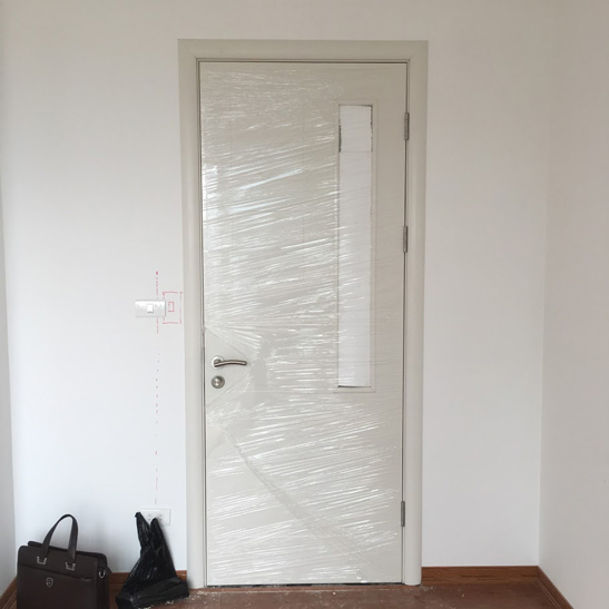 cửa gỗ cổ điển hiện đại Gravo 301