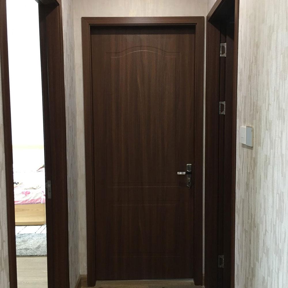 Cửa gỗ nhựa cho căn hộ chung cư