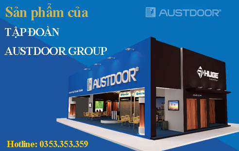 Cửa gỗ Huge của tập đoàn Austdoor