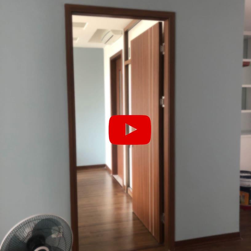 Video thi công cửa gỗ tại công trình