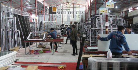 Nhà máy sản xuất cửa nhôm Xingfa ở Hà Nội