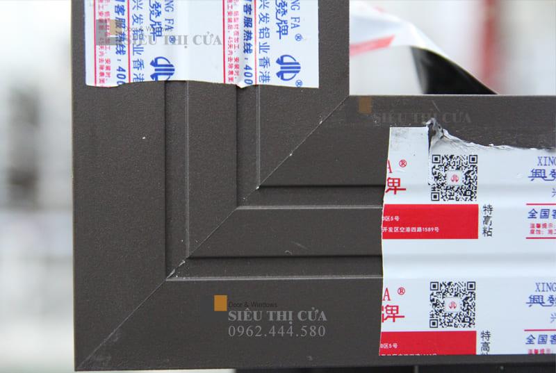 Cửa nhôm Xingfa chính hãng