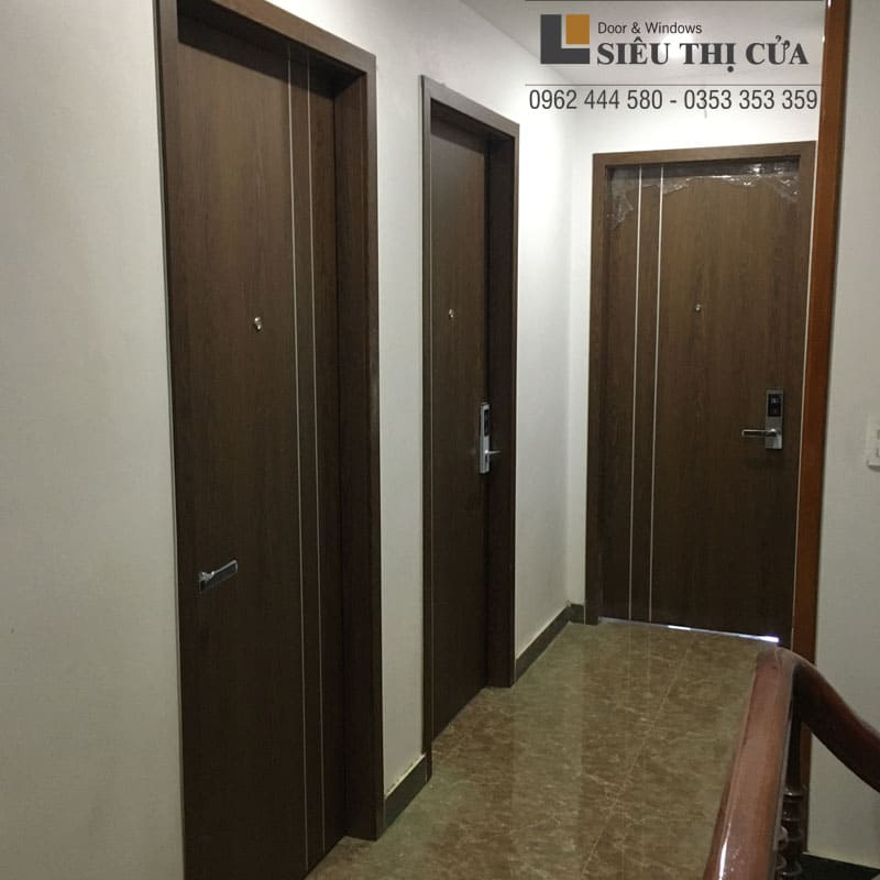 Thi công cửa gỗ khách sạn ở Cao Bằng