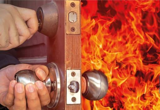 Cửa gỗ chống cháy chuyên dụng