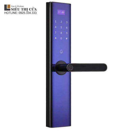 Khoá vân tay 4 chức năng THlock BTM103 mặt kính cường lực thân khoá inox304 cao cấp