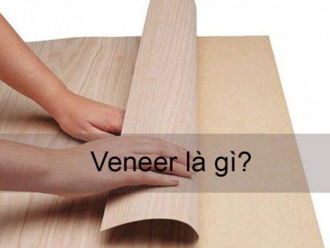 veneer gỗ tự nhiên là gi