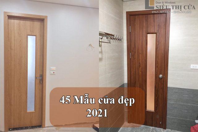 Mẫu cửa đẹp thịnh hành 2021